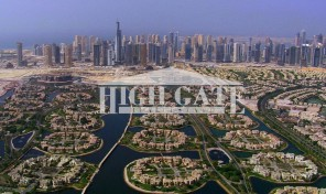 Beautiful Lake View 4BR+Maid Room Villa for Rent in Cluster 09, Jumeirah Island